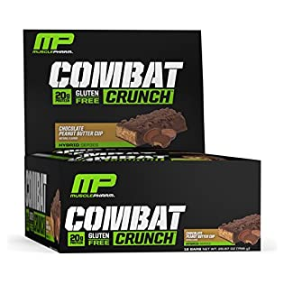Muscle Pharm Combat Crunch Supplement, 12 count - 51KNB+TUOWL. SS315