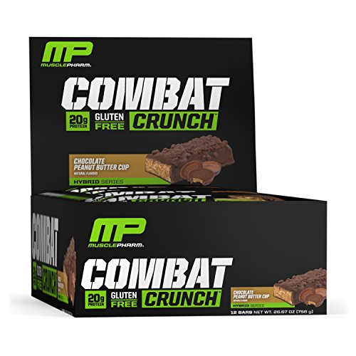 Muscle Pharm Combat Crunch Supplement, 12 count - 51KNB+TUOWL