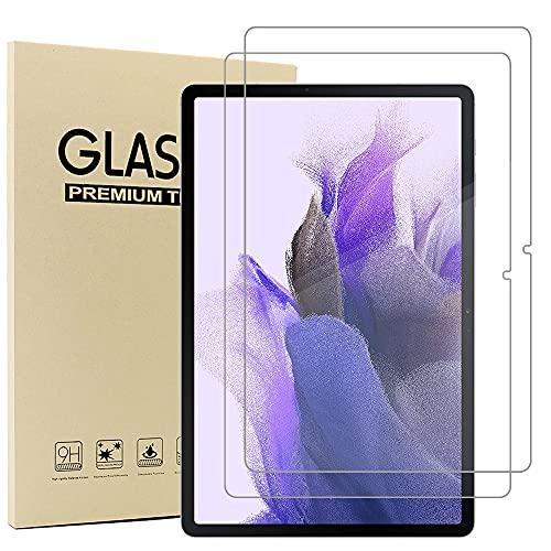 Acadeny(2 Paquete Cristal Templado Protector Pantalla para Samsung Galaxy Tab S7 FE...