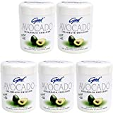good グッド インドネシアバリ島の伝統的なヘッドスパクリーム Creambath Emulsion クリームバス エマルション 680g × 5個 Avocado アボガド [海外直送品]