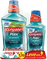 Enxaguante Bucal Colgate Plax Ice Infinity 500Ml Promo Leve 500Ml Pague 250Ml