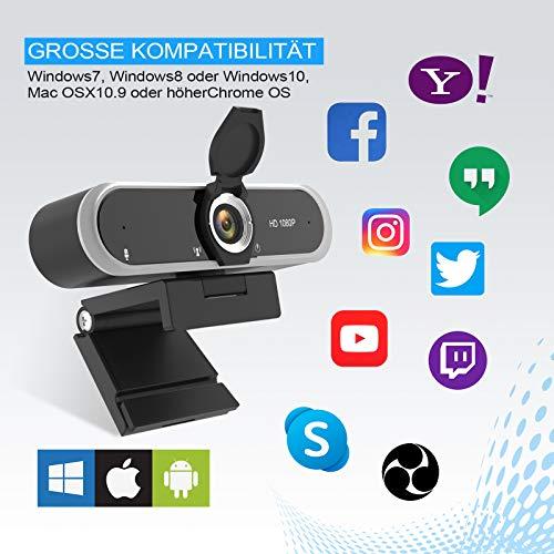Niveoli PC Kamera -Hohe Kompatibilität