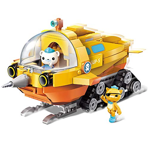 for Age 6+ Building Block Octonauts GUP-S Polar Exploration Vehicle & Barnacles kwazii 275pcs Building Brick Set-Without Original Box (3704)