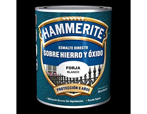 HAMMERITE - Esmalte Antioxido Forja Negro Hammerite 2,5 L