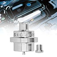 ブローオフバルブ、ダンプブローオフアダプターアルミニウム(2.7 S4用)BIターボ(A3用)A4 S4 TT 1.8T(シート用)Ibiza Leon Toledo Cupra 1.8T(Silver)
