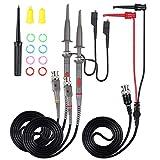 AUTOUTLET P6100 Universal Oscilloscope Probe with Accessories Kit 100MHz Oscilloscope Clip...
