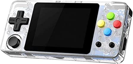 SUNBIBE Handheld Game Console,LDK Game Screen by 2.7 Thumbs Mini Handheld Palm Palm Console of Nostalgic Children Retro Console of Dioco Mini Family TV Video (2.7 -inch, Clear)