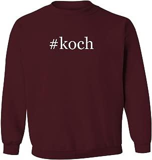 #koch - Men's Hashtag Pullover Crewneck Sweatshirt