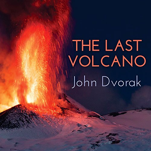 The Last Volcano audiobook cover art