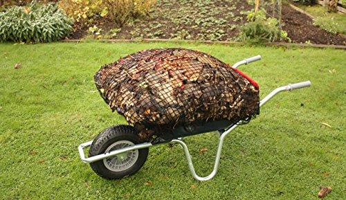 BarroNet Wheel Barrow net cover | Voorkomt en minimaliseert Spillages | Compatibel met Garden Caddy, Tipper pull Truck, Plastic Paard Kruiwagen & Tuinwagentje