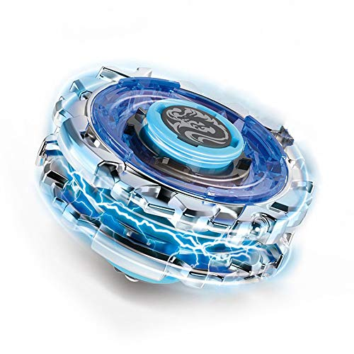 infinitoo Kampfkreisel Burst Doppelangriff Battling Tops 4D Fusion Modell Beschleunigungslauncher Speed Kreisel Tolles Kinder Spielzeug Geschenk Blau