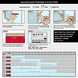 Tyroler Bright Tools The Glider S-1 - Limpiacristales Magnético para Ventanas de Vidrio Simple con un Grosor de 2-8 mm