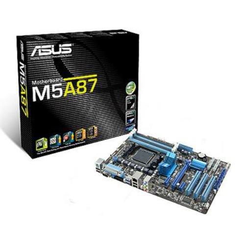 Asus M5A87 Mainboard SocketAM3+ (ATX AMD 870/SB850, 4X DDR3 Speicher)
