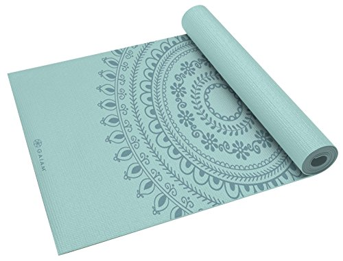 gaiam Yoga Mat Marrakesh, Unisex, 68-Inch x 24-Inch x 5mm