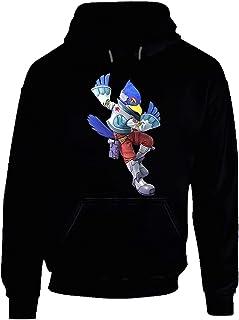 Falco Lombardi Star Fox Video Game Gift Hoodie Black.