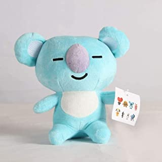 N-L Cute Blue Koala Anime Puppet Transformed Plush Figures Toy Stuffed Soft Doll Pillow Cushion Best Kids Birthday 18cm