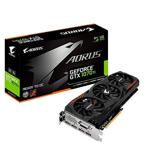 Gigabyte GeForce GTX 1070 Ti Aorus 8G, 8192 MB GDDR5 (Generalüberholt)