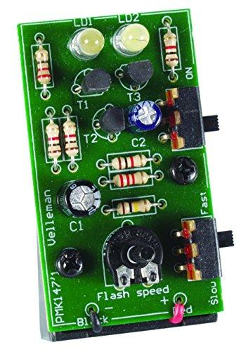 Velleman MK147 Dual White LED Stroboscope, multicolored