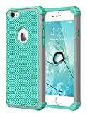 CHTech iPhone 6S Case,iPhone 6 Case, Double Durable Shockproof Case for Apple iPhone 6/6S 4.7 inch (Mint)