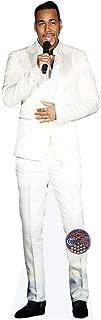 Romeo Santos (Singing) Mini Cutout