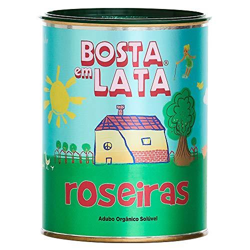 Fertilizante Orgânico Bosta em Lata Roseiras - 400 G