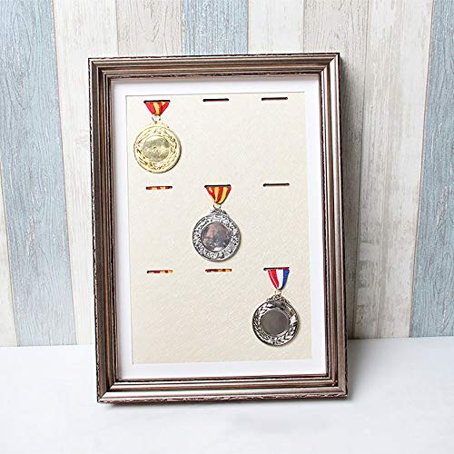 ZZPP Frame To Display Medals,3d Deep Box Frame To Display War/Military/Sports Medals -9 Medals,Sports Medal Photo Frames (Yellow Bottom Plate)