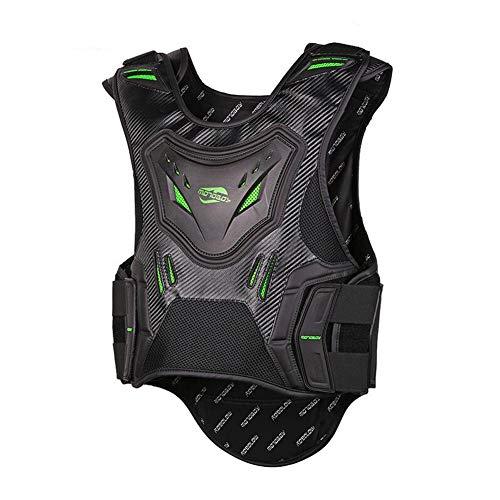 PIEKE Full Body Armor Motorfiets Armor Vest Impact weerstand Ademend en sneldrogend voor Motorfiets Motocross Dirt Bike Racing ATV