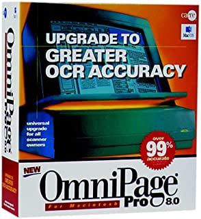 OmniPage Pro 8.0 Upgrade