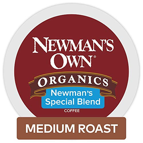 Newman's Own Organics Newman's Special Blend, Keurig Single-Serve K-Cup Pods, Medium Roast Coffee, 32 Count