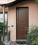 Puerta Blindada metalnova para exterior con apertura elettromeccanica