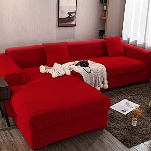 Full colour bankovertrek bankovertrek huisdieren kinderen kinderen hond kat sectional bankovertrek sofaovertrek elastische riemen sofa slipcover