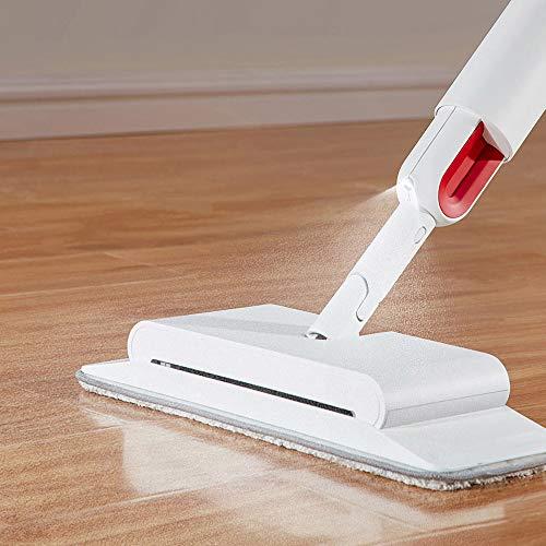 SILENTLY Mop-Spray-Mopp-Besen Leistungsstarker Staubsauger-Hartbodenwaschmaschine, Ausgestattet Mit Ultrafein Faser, Waschkissen, Sprühplatte Mopp-Reinigungswerkzeug