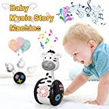 Early Education Music Toy,Baby Toy Toddler Toys,Music Story Book Toy,Roly-Poly Rattles Toys with...