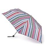 Superslim 2 Paraguas con Estampado de Rayas Extra Funky