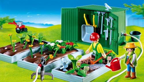 Preisvergleich Produktbild PLAYMOBIL® 4482 - Beete mit Geräteschuppen