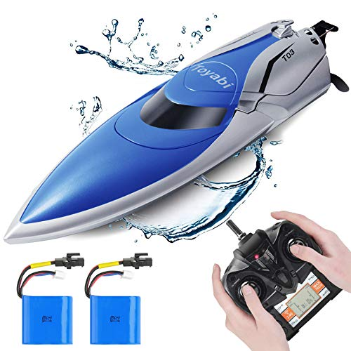 GizmoVine RC Boat-20+MPH High Speed RC Racing Boats, Capsize Recovery, Low Battery Alarm Boat Toys...