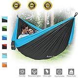 Camping Hammock, XL Portable Hammock for 2 Person Backpacking...