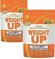 【2袋セット】アルプロン -ALPRON- ウェイトアップ プロテイン フルーツミックス風味 1,200g×2