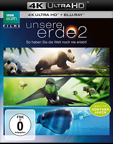 Unsere Erde 2  (4K Ultra HD) (+ Blu-ray 2D)