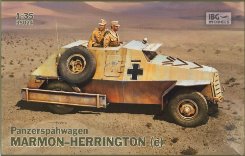 Maquette Panzerspähwagen Marmon-Herrington (e)