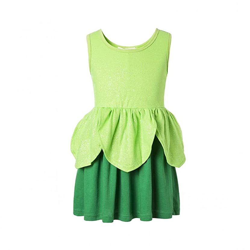 Tinkerbell Classic Girls Costume Tinker Bell Princess Dress Girls Dress Fairies Tink The Fairy Rescue Classic Costume