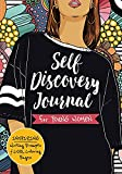Self Discovery Journal for Young Women: Inspiring Writing Prompts and Cool Coloring Pages for Teenage Girls Ages 13-16