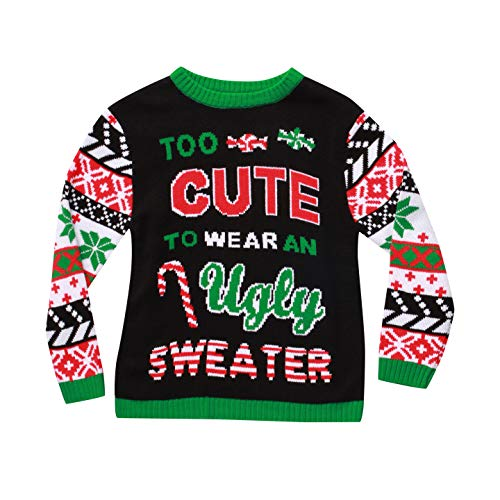 #followme Ugly Christmas Sweaters for Girls 68601-363-14-16