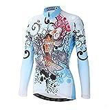 DuShow Women Bike Bicycle Cycling Long Sleeve Jersey Top...