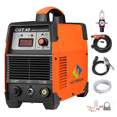 Plasma Cutter 40A 220V Electric DC Inverter Air Plasma Cutting Machine CUT40 Metal Cutter HITBOX