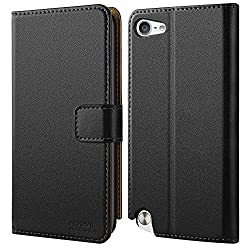 Top Quality: This iPod Touch Case is made of high quality PU leather and flexible TPU, protects your device from accidental drops, bumps, dust and scratches. Multi-functional, Simplify Your Life: The iPod Touch Wallet Case featuring 2 Card Slots and ...