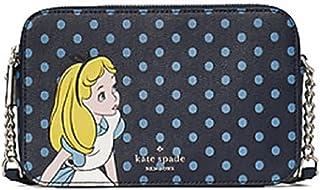 Kate Spade New York Alice in Wonderland Small Polka dot Crossbody Bag