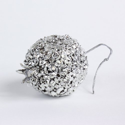 "Granatapfel ""Stone Art"" Kunstobst aus Stein, 8,5 cm"