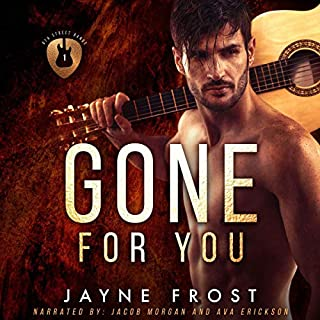Gone for You: A Rock Star Romance: audiobook cover art