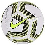 Nike Unisex - Adult Strike Pro Team Football, White/Black/Volt/Black, 4